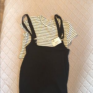 Dress with top